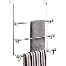 Bathroom Towel Tree Rack Amazon Com Oxo Over The Door Towel Rack Home U0026 Kitchen