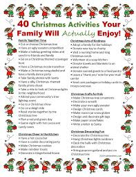40 activities your family will actually enjoy