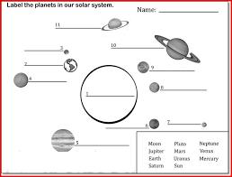 solar system worksheets for kids free worksheets library