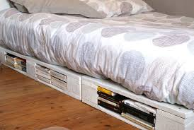 Make A Queen Size Bed by Bed Frames How To Make A Pallet Bed With Lights How Many Pallets