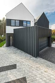 contemporary family home in poland will give your ideas in gallery small garage looks like an extension