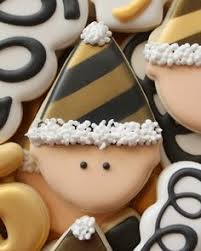 New Year Decorated Cookies by Cookiecrazie Happy New Year From Cookiecrazie Photo For