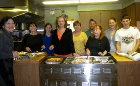 chai center for jewish life volunteers at soup kitchen news