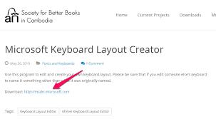 microsoft keyboard layout designer microsoft keyboard layout creator society for better books in cambodia