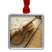 christmas tree ornament violin decorating ideas