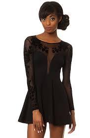 motel dresses motel dress moon child in black karmaloop