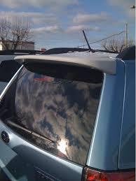 2013 Subaru Forester Roof Rack by Jsp 368050 Subaru Forester Rear Spoiler Primed 2009 2013 Tailgate