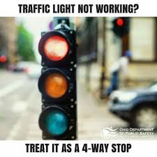 traffic lights not working what is the law in ohio if a traffic light is not working quora