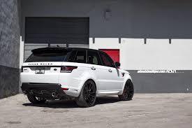 range rover sport white 2017 range rover sport adv5 2 m v1 sl gloss black wheels adv 1 wheels