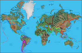 Barents Sea Map Image World Physical Map Jpg Alternative History Fandom
