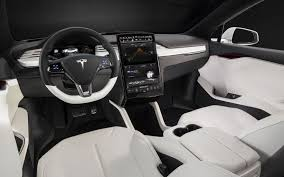 tesla model s interior 216 miles per charge 110 mph top cruise