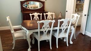 Refinish Dining Chairs Cost To Refinish Dining Room Table And Chairs Alasweaspire