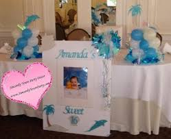 Centerpieces For Sweet 16 Parties by Sweet 16 Sign In Board Tropical Theme Triad Winston Salem