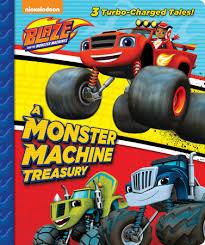 monster machine treasury blaze monster machines
