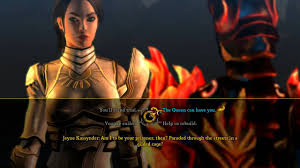dungeon siege 3 rajani dungeon siege 3 end spoiler alert s1r talking about