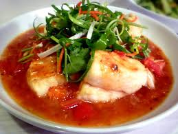 chien cuisine 3 hungry tummies fish with fresh tomato sauce ca chien sot chua ngot