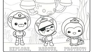 Disney Octonauts Coloring Pages For And Print 981853 Coloring Octonauts Coloring Pages