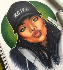 beautiful cartoon women art 30 best my black is beautiful images on pinterest black women art