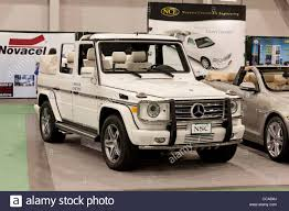 mercedes cross country mercedes g class cross country vehicle stock photo royalty