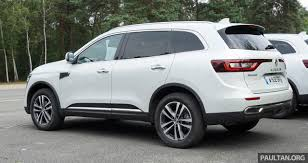 renault koleos 2016 driven 2016 renault koleos sampled in france u2013 potential
