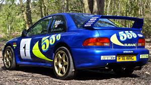 subaru wrc colin mcrae u0027s subaru impreza wrc test car sells for nearly 300k