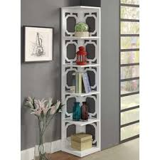 Corner Bookcase Units Corner Bookcases You Ll Wayfair