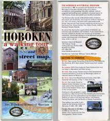 Walking Map Of New York City by Hoboken A Walking Tour And Street Map The Hoboken Historical