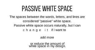 design principles white space the paper blog