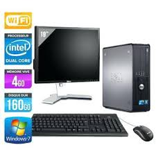 pc bureau wifi ordinateur de bureau en solde unita centrale acran pc dell 780