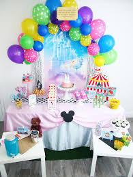 walt disney world birthday party celebration stylist
