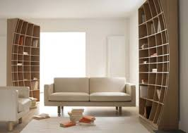 Bookcase In Wall Creative Sculptural Bookcase In Two Halves Digsdigs