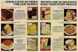 6 dessert recipes with duncan hines cake mix 1978 click americana