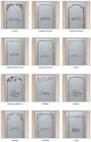 kitchen pantry doors ideas i frosted glass pantry doors bring light into the pantry