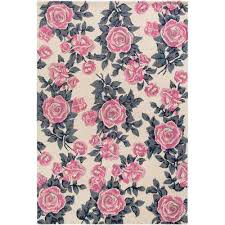 Light Pink Area Rugs Floral Pink Area Rugs Rugs The Home Depot