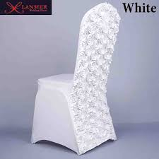 cheap spandex chair covers 3d flower color white wedding chair covers spandex lycra