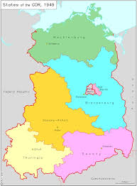 map of germany with states and capitals ghdi list of maps