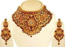 new necklace set gold images Choker necklace set gold choker necklace set indian bridal choker jpg