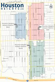 Traffic Map Houston Houston Heights Map Four Fantastic New Houston Heights Maps