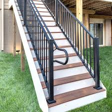 signature stair rail u0026 baluster kit by trex decksdirect