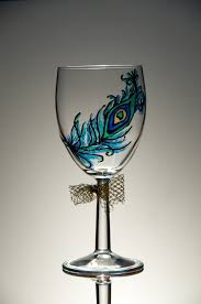 Wine Glass Decorating Ideas Stunning Wine Glass Design Ideas Images Amazing Interior Design