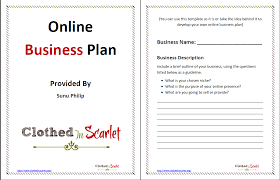 free basic business plan template 100 images 3 year business