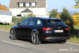 audi rs4 avant spied with s4 body dbn spotter