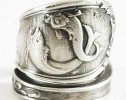 modern fish ring holder images Pisces ring etsy jpg