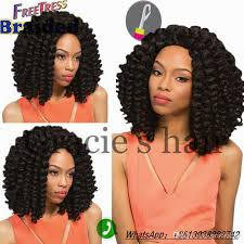 jamaican hairstyles black 8inch african collection wand curl hair synthetic braiding hair
