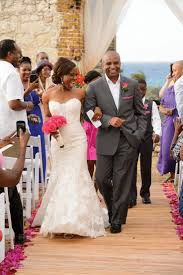 bryant wedding dresses inside erica bryant s wedding in jamaica gorgeous gown from