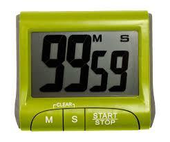 minuterie de cuisine minuteur magnet cadran digital design timer electronique cuisine
