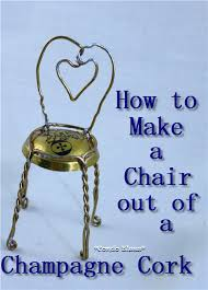condo blues how to make a champagne cork cage chair
