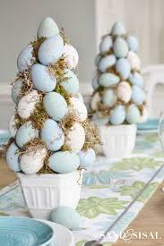 Easter Egg Decorating At Home by Easter Egg Topiary Tree Chalk Paint Easter And Egg