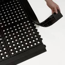 Interlocking Rubber Floor Tiles Edging For Interlocking Rubber Flooring Tiles Ad Colour