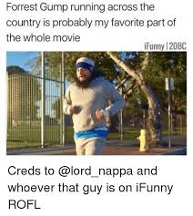 Funny Running Memes - 25 best memes about forrest gump running forrest gump